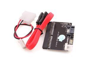 2 in 1 SATA to IDE/ IDE to SATA ATA 100/133 Adapter Converter Suit Driver & Host