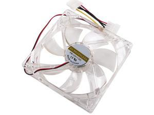 Fantastic 120mm 4 LED 4Pin 1200 RPM Cooling Fan PC Chassis Cooler Case Blue