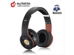 Syllable Wireless 2.4G Bluetooth Headphone Noise Reduction Black Buit-in Microphone Foldable holder Stereo HIFI For iphone ...