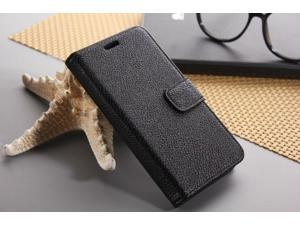Euroge Tech® Litchi Skin Flip Leather Pouch Stand Cases Cover For Google Nexus 5(black)