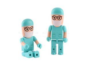 32GB Blue Doctor Shape USB Flash Drive Memory Stick