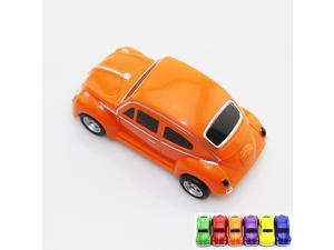 real capacity 8GB 8G orange beetle car shape USB Flash Drive pen drive memory stick pendrive