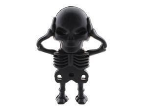 real capacity 32GB 32G novelty black skeleton shape USB Flash Drive pen drive memory stick pendrive