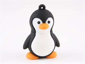 Good Quality Real Capacity 16GB 16G Penguin Shape U Disk Memory Pen Drive Usb Flash Drive Mini Thumb Drive
