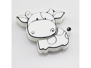 2014 Newest Genuine Real Full Capacity Cartoon Cow 8GB 8G Memory sticks Pendrive USB Flash Drive With Good Quality