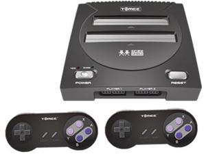 Hyperkin Tomee C2 NES SNESTomee System Black Supports 8-Bit NES And 16-Bit SNES Games