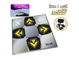 Dance Revolution ENERGY metal dance pad for PS/ PS2 - Xbox - PC DDR-M03822