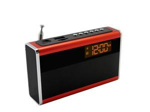 Supersonic Portable Rechargeable Speaker with Alarm Clock & Fm Radio, Sc-1350