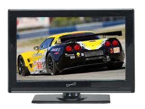 """Supersonic SC-2411 24"""" 1080p HD LED LCD Television w/ ATSC Digital Tuner New"""