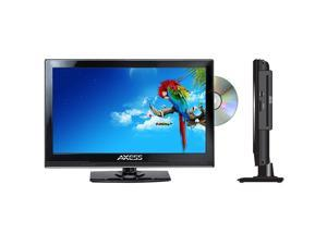 "Axess TVD1801-13 13.3"" LED AC/DC TV with DVD Player Brand New TVD-1801"