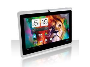 "AXESS TA2509-7 7"" tablet with Android 4.1 Jelly Bean OS, 1.2 GHz White"
