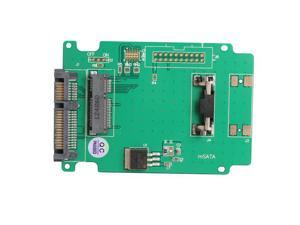 mSATA to SATA Adapter Solid State Hard Drive Adapter Card for Laptop