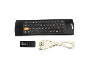 Mini 3 in 1 Wireless Mouse Keyboard Remote Control USB Receiver for Computer PC TV Player New
