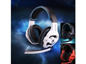 Top Quality stereo game headphones 3.5mm earphone for computer and mobile gaming headset with microphone and remote control