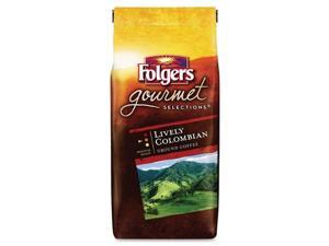 Folgers Colombian Gourmet Ground Coffee Ground - Colombian - Dark/Bold - 1 Each