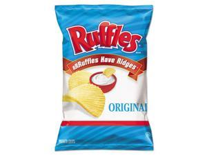 Ruffles Original Potato Chips, 1.5 oz Bag, 64/Carton
