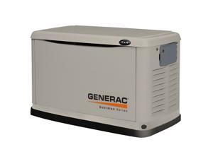 6248 Generac Guardian Series 17/16kW Air-Cooled Standby Generator, Steel Enclosure