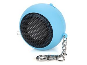 DK-601 Mini Capsule Speaker Rechargeable for MP3 Mobile Cell Phone Blue