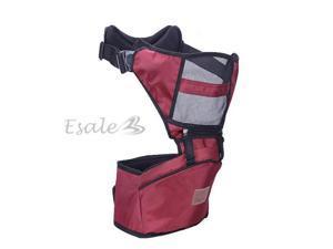 Baby Infant Newborn Carrier Sling Wrap Rider Comfort Backpack Burgundy