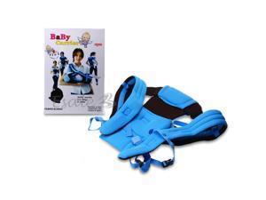 Baby Infant Newborn Front Back Carrier Sling Wrap Comfort Backpack Sky Blue
