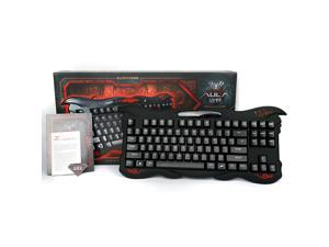 AULA ELKX Mechanical Gaming keyboard USB Wired 87 Keys Cherry MX Black Switch