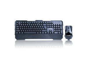 SOAI E8060 2.4GHz USB Wireless Gaming Keyboard & Mouse 1600 DPI Combo for Desktop PC Laptop Discount