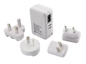 Yoopoo 4 Port USB Power Adapter Wall Charger 5V 2A 10W White