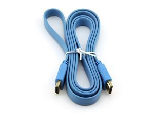 Generic High Speed HDMI to HDMI Cable 1.5m 5-Foot Blue