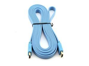Generic High Speed HDMI to HDMI Cable 3m 10-Foot Blue
