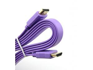 Generic High Speed HDMI to HDMI Cable 1.5m 5-Foot Purple