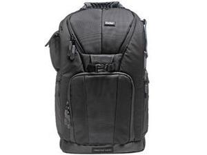 """Vivitar Series One Digital SLR Camera/Laptop Sling Backpack - Large (Black) Holds Most 17'"""" Laptops"""