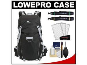 Lowepro Photo Sport 200 AW Digital SLR Camera Backpack Case (Black) with (2) Lenspens + Cleaning Kit + LCD Protectors + Accessory ...