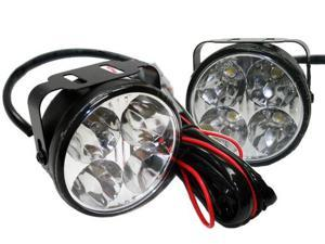 LED Back-up Light Kit - 2 3/4in. Round w/ 4 LED Lamps - Universal
