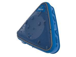 iHome iBT3 Splashproof Wireless Bluetooth Speaker with Speakerphone (Blue/Gray)