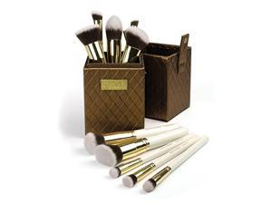 Royal Brush Foxy 10 Piece Brush Kit In Luxe Box
