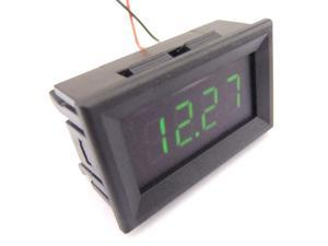 "0.36"" DC 4.5-30V 12V Digital Voltmeter Car Motorcycle Battery Voltage Monitor Green LED"