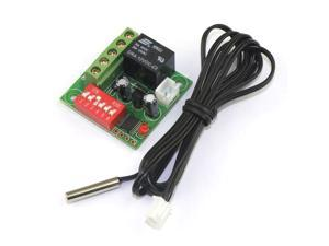 20-90 °c 12V DC Digital Heating/Cooling Thermostat Temperature Controller With 1 Meter Sensor Probe Cable