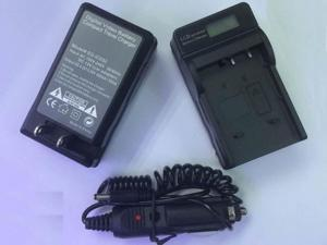Battery Charger with LCD display for CASIO NP-20 Exilim EX-Z75 EX-Z77 EX-S770 S880 Digital Camera