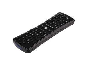 A3 Fly Mouse 2.4G Air Mouse Wireless Keyboard 78 Keys for PC TV Dongle HTPC Black
