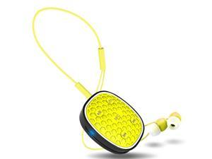 Earphone Wireless Sport Bluetooth Headset Stereo Earplugs with Microphone For Phone Zonoki Z-B92 - Yellow