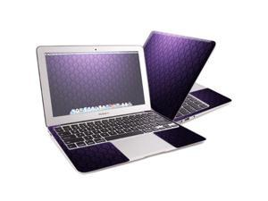 "Mightyskins Protective Skin Decal Cover for Apple MacBook Air 13"" with 13.3 inch screen wrap sticker skins Antique Purple"