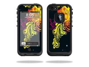 Mightyskins Protective Vinyl Skin Decal Cover for LifeProof iPhone 5 / 5S Case fre Case wrap sticker skins Flourishes