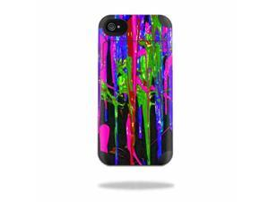 MightySkins Protective Vinyl Skin Decal Cover for Mophie Juice Pack Air Apple iPhone 4/4S Battery Case Sticker Skins Drips
