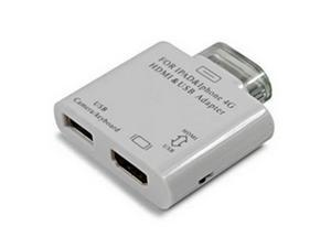 dock to HDMI 30 pin male to HDMI FEMALE ADAPTER FOR Ipad 2 3 iphone