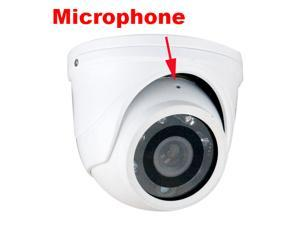 700 TV Lines GW Sony Super HAD II CCD Camera Build In Microphone 700TVL 3.6mm Lens Low Lux Day Night IR Surveillance Dome ...