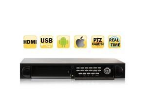GW 16 Channel 960H & D1 DVR Real Time Motion Detective Support DVD-RW Slot HDMI & VGA iPhone Android Viewable StandAlone ...