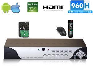 GW9116SH 16 Channel DVR (1TB HDD) 960H D1 Real Time Motion Detective HDMI Output Compatible With All Analog Cameras Smartphone ...