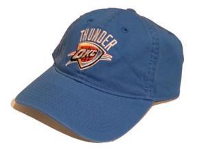 Oklahoma City Thunder NBA Slouch Relax Blue Adjustable Hat Cap