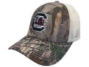 South Carolina Gamecocks TOW Realtree Camouflage Mesh Yonder Adjust Snap Hat Cap