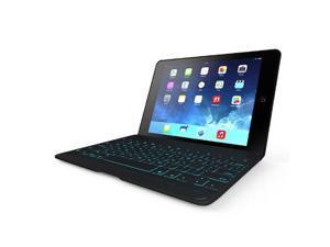ZAGG Folio Case with Backlit Bluetooth Keyboard for iPad Air-Black ZKFHFBKLIT105